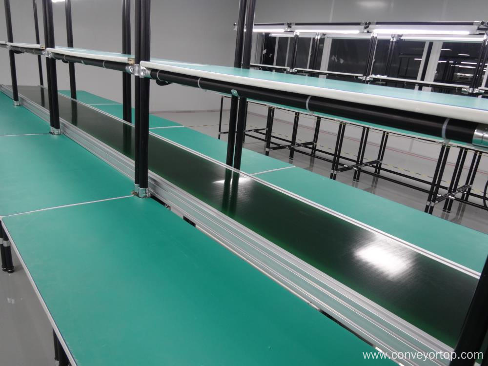 Belt Conveyor Systems with Lean Pipe