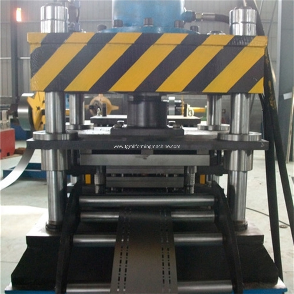 Electric Cabinet Rack Sixteen Fold Profile Forming Machine