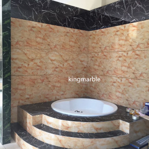Best quality Low price for Uv Pvc Marble Wall Panel The kingmarble pvc marble wall sheets for decoration export to Slovenia Supplier