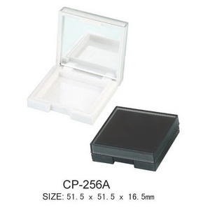 Plastic Square Cosmetic Powder Case