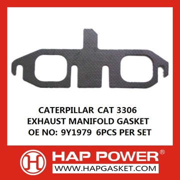 Excellent quality for Engine Manifold Gaskets Caterpillar 3306 Exhaust Manifold Gasket export to Turks and Caicos Islands Importers