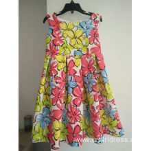 Customized for Long Dresses Air layer fabric for princess baby girl dress export to Paraguay Factory