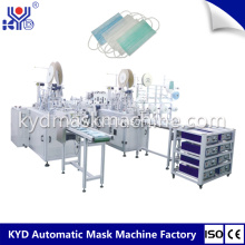 Disposable 3 Player Medical Face Mask Making Machinery