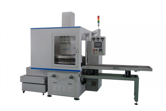 Plastic parts double disc surface grinding machine