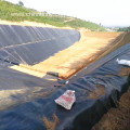 Black Plastic PVC Geomembrane Pond Liner