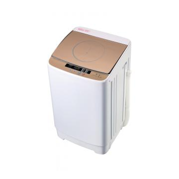 Gold Glass Cover 5KG Fully Automatic Washing Machine