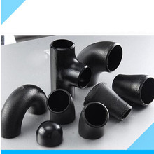 Black Paint good quantity carbon steel elbow
