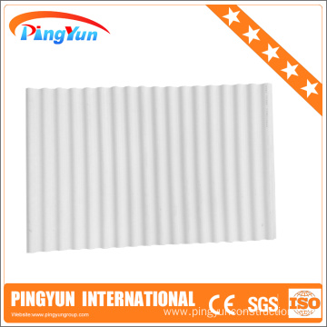 soundproof roofing sheets/corrugated plastic roofing sheets
