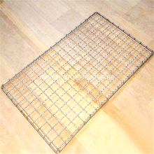 Woven Folding Two Layers BBQ Grill Wire Mesh