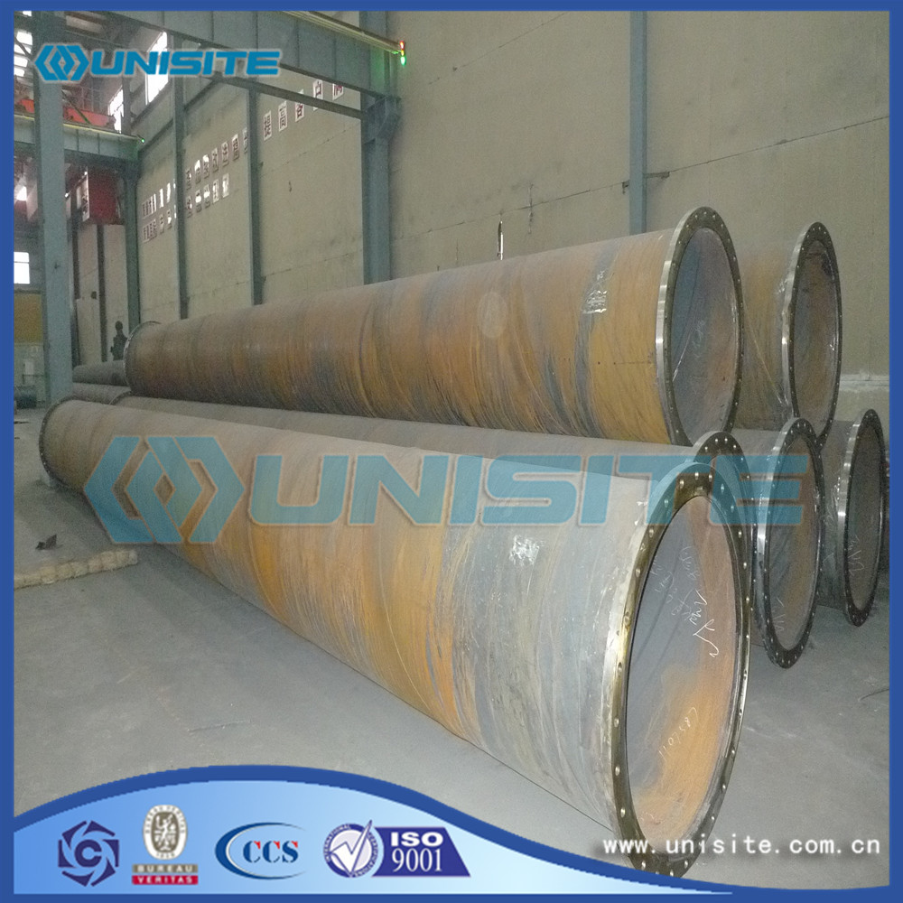 Spiral Welded Steel Round Pipes price