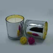 China Manufacturers for Scented Candle Wedding Aroma Soy Wax Candles in Silver Jar export to Spain Exporter