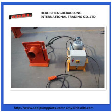 Concrete pump parts hydraulic shut off valve