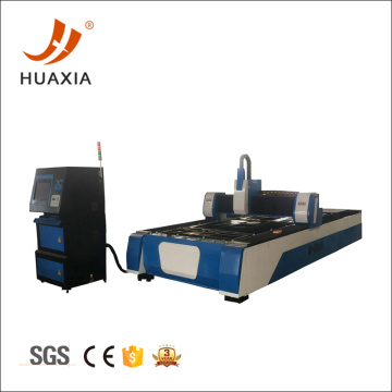 Fiber laser cutting machine cut stainless steel