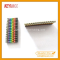 POM Colorful Numeric and Letter Cable Marker Strips