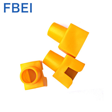 Conectores de color amarillo Cat Rj45