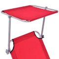 Canopy Folding Aluminium Sun Outdoor Beach Bed
