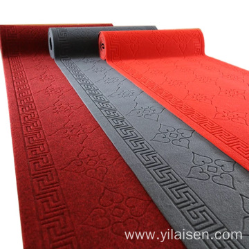 Factory wholesale film exhibition carpet plain velour