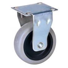 China New Product for Twin Wheel Casters 2-inch light duty rigid plate mounted caster supply to San Marino Supplier