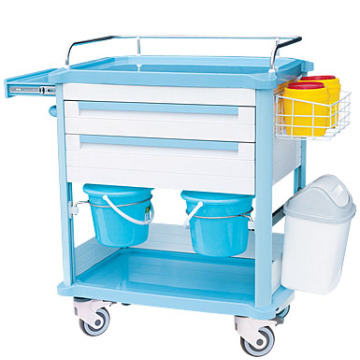 Color optional ABS treatment cart