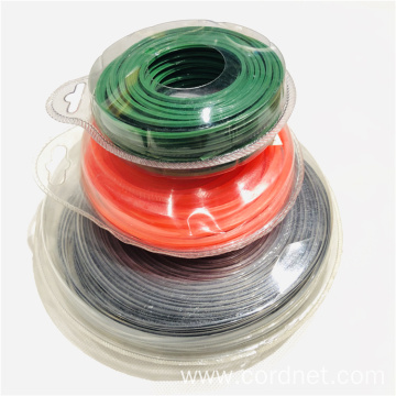 Grass Cutter Nylon Line Different Shape Trimmer Line