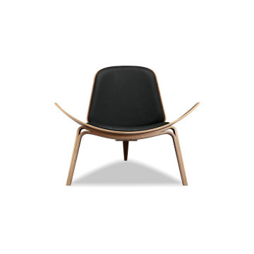 Wegner CH07 Shell Chair bentwood lounge chair