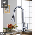 Rotatable pull out faucet kitchen tap