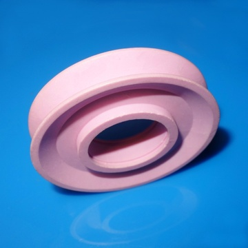 Pink alumina ceramic ring guide