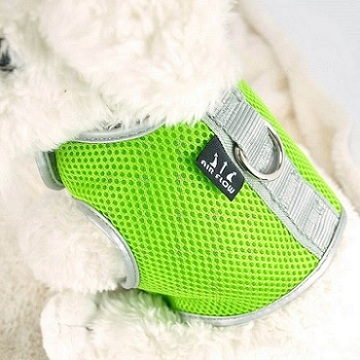Green Large Airflow Mesh Harness with Velcro