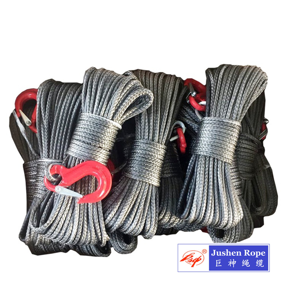 12 Strand 10mm 30m Synthetic Winch Rope