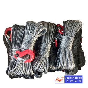 China Factories for Double Braided Rope UHMWPE Rope for Offshore/Tugging/Lifting/Winch supply to Jordan Importers