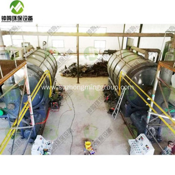 Plastic Pyrolysis Reactor Plant Catalyst Cost Design