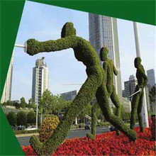 Anti-corrosion Artificial people plant sculpture