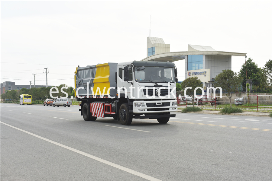 municipal solid waste collection truck for sale