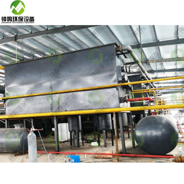 waste plastic scrap recycling for Pyrolysis to Oil machine