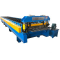 Metal sheet roll forming machine
