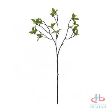 Single prickly ash leaf artificial leaves flowers plant