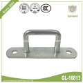 Heavy Duty Gate Staple On Elongated Plate 36mm