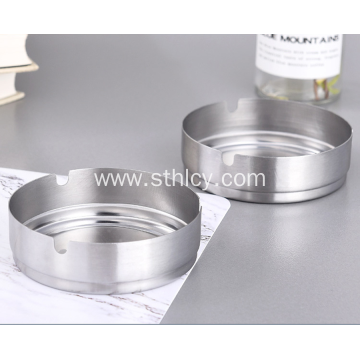 Wholesale Stainless Steel Thickened Round Ashtray