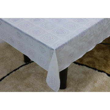 Printed pvc lace tablecloth by roll argos