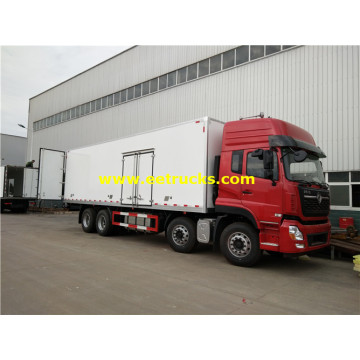 25MT Dongfeng Reefer Food Vans