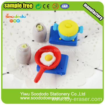 Kitchen Erasers For Promotional Gift