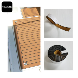 China Exporter for Foam Faux Teak Sheet EVA Faux Teak Strip For Boat Yacht Flooring supply to Spain Factory