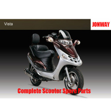 Jonway Vista Complete Scooter Spare Parts Original Spare Parts