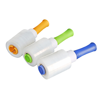 Polythene plastic wrapping film roll