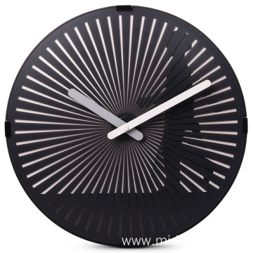 Europe style for for Quartz Wall Clock 12 inches round motion wall clock supply to Armenia Supplier