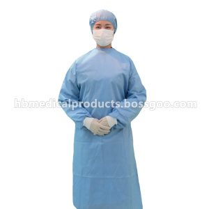 Special Price for  Disposable nonwoven fabric surgical gown export to Guadeloupe Supplier