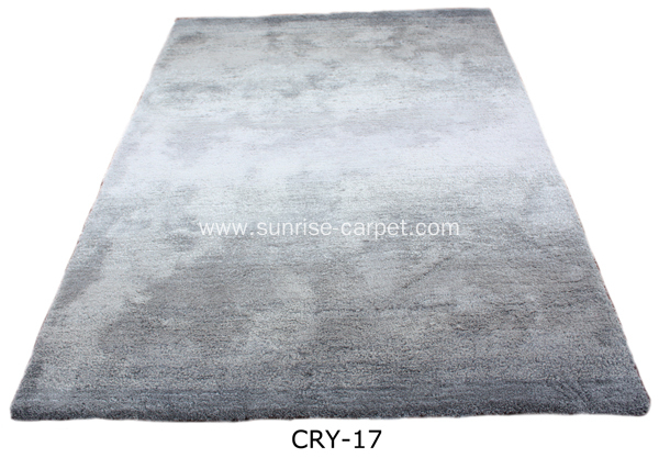 Microfiber Thin Yarn with shading color Carpet