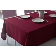 100% Polyester plain table cloth