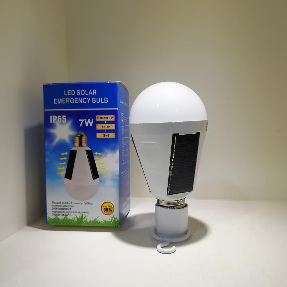 Led Solar Energy Bulb Light