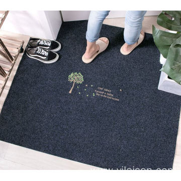 Dedicated to embroidery entry door mats